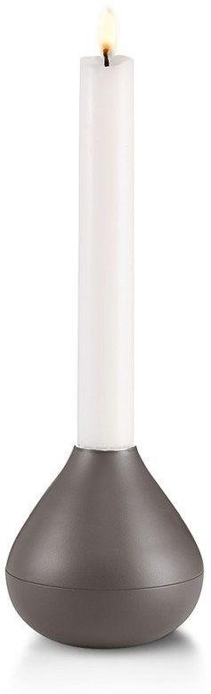 Philippi  świecznik drops antracyt