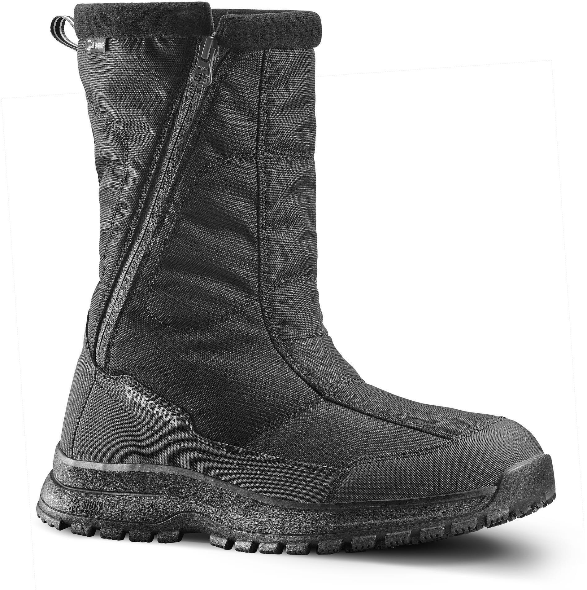 Buty turystyczne śniegowce WARM WTP - SH100 U-WARM - wysokie męskie