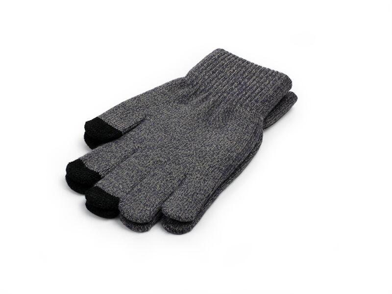 Uniwersalne rękawiczki Premium do ekranów dotykowych - szare