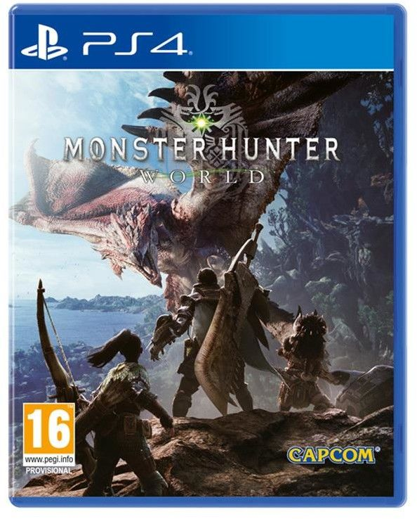 Monster Hunter World PL/EN (PS4)
