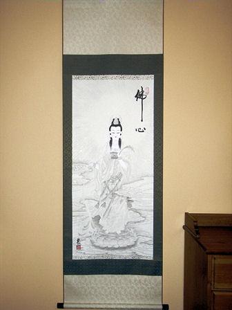 OBRAZ ORIENtALNY Biała Guanyin - Boddhisatwa Miłosierdzia - Budda