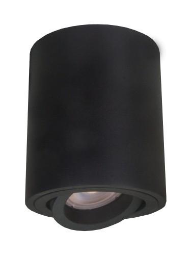 Downlight Tulon tuba regulowana natynkowa czarna LP-5441/1SM BK - Light Prestige // Rabaty w koszyku i darmowa dostawa od 299zł !
