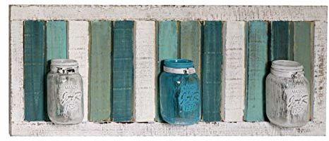 Vacchetti 5107370000 wieszak na kwiaty, drewniany, wielokolorowy, duży