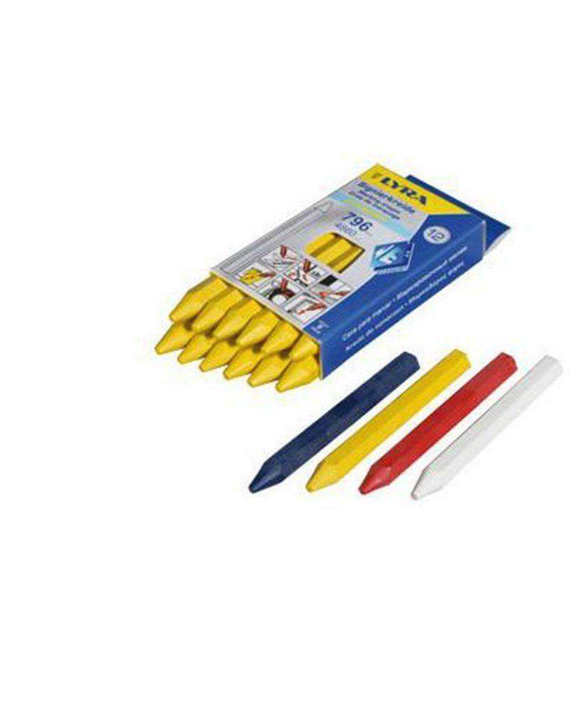 Kreda do oznaczeń LYRA 796 żółta długość 110mm