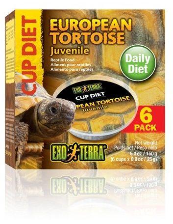 Exo-Terra Pokarm dla młodych żółwi europejskich European Tortoise Juvenile