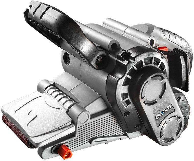 Szlifierka taśmowa 800W pas bezkońcowy 75x457 mm 59G394