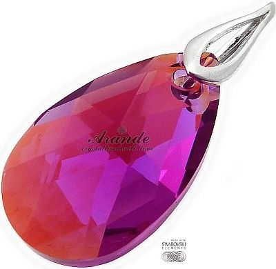 Jedyne Na Świecie! Kryształy Wisiorek+Łańcuszek