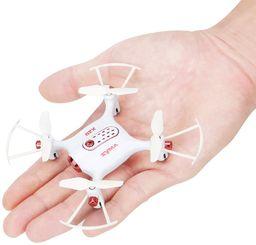 Syma X20 mini dron kieszonkowy RC drony bez aparatu mikro quadów wysokość trzymania bez głowy RC Quad Copter, biały