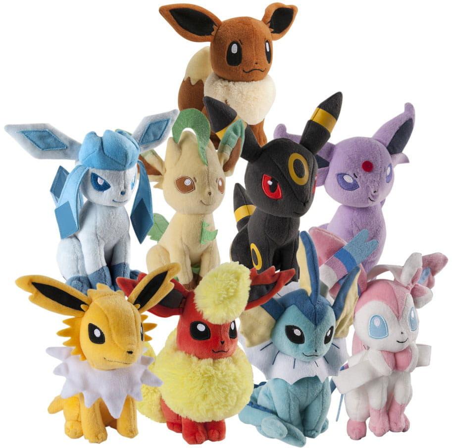 Pokemon Eevee (ewolucje) - Pluszak
