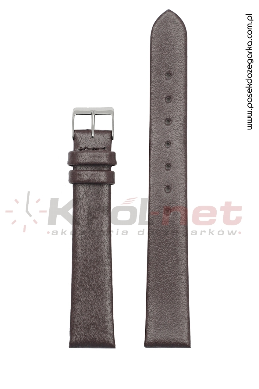 Pasek TK063BR/6 - brązowy