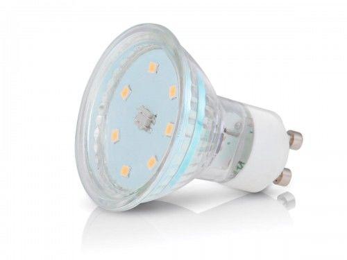 Żarówka LED PREMIUM GU10 3W ~ 25W ciepła