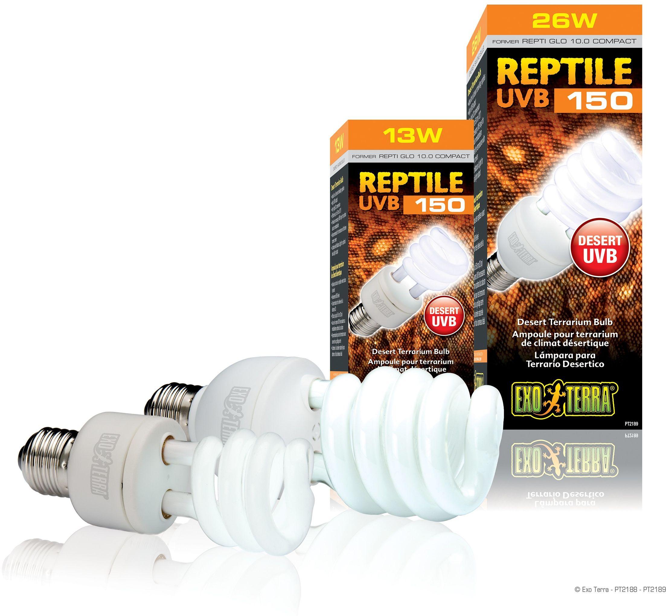 Exo-Terra Świetlówka kompaktowa Reptile UVB150