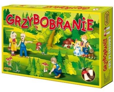 Gra Grzybobranie ADAMIGO 4993
