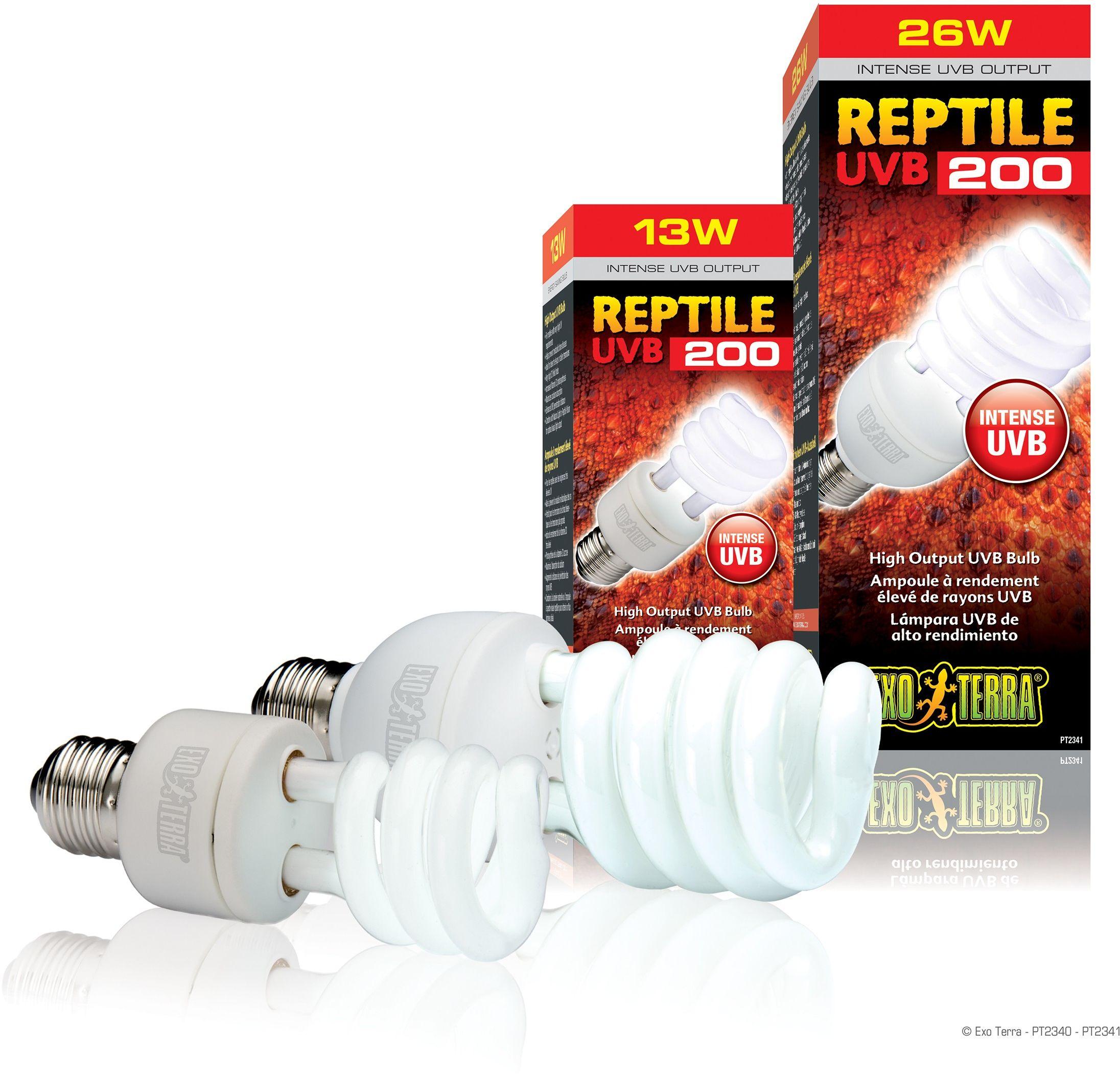 Exo-Terra Świetlówka kompaktowa Reptile UVB200