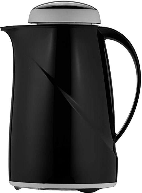 Helios Wave termos z tworzywa sztucznego, czarny, 0,6 litra