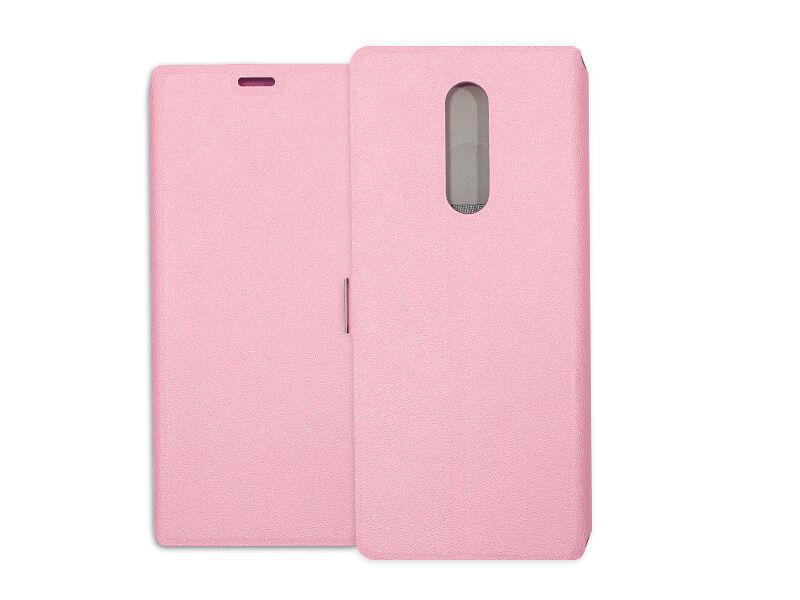 Sony Xperia 1 - etui na telefon Wallet Book - różowy