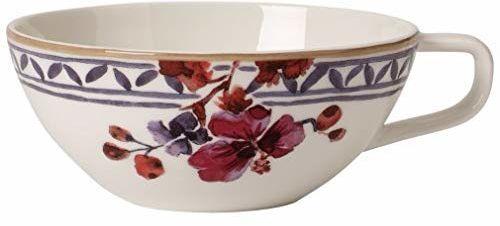 Villeroy & Boch - Artesano Provencal lawendowa filiżanka do herbaty, filiżanka ze stylową lawendą z porcelany premium, nadaje się do mycia w zmywarce, 240 ml