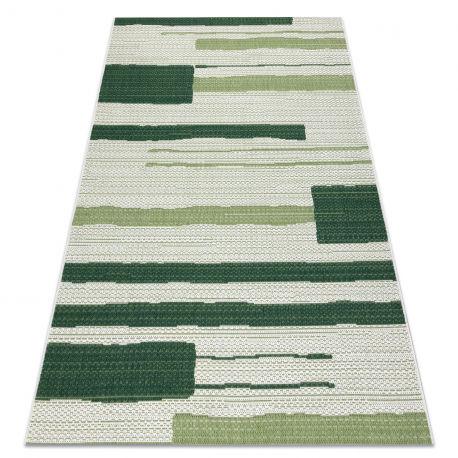Dywan Sznurkowy SIZAL COLOR 19676362 Linie beż / zielony 80x150 cm