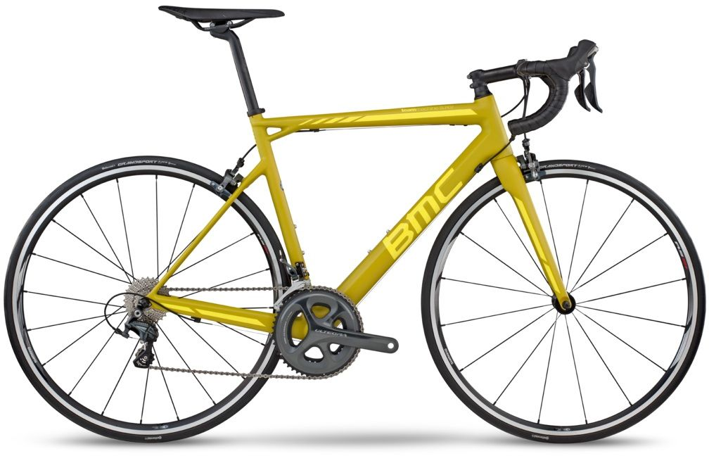 BMC TEAMMACHINE SLR02 Ultegra 54cm Yellow