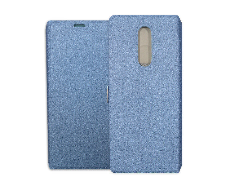 Sony Xperia 1 - etui na telefon Wallet Book - granatowy