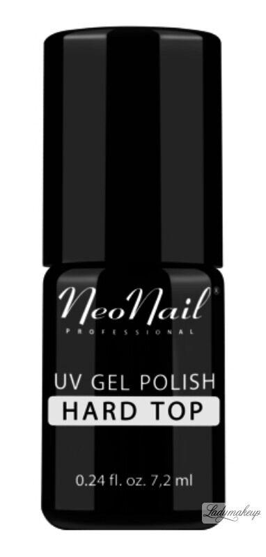 NeoNail - UV GEL POLISH - TOP HARD - Lakier nawierzchniowy (nabłyszczający) - 7,2 ml - ART. 4745-7