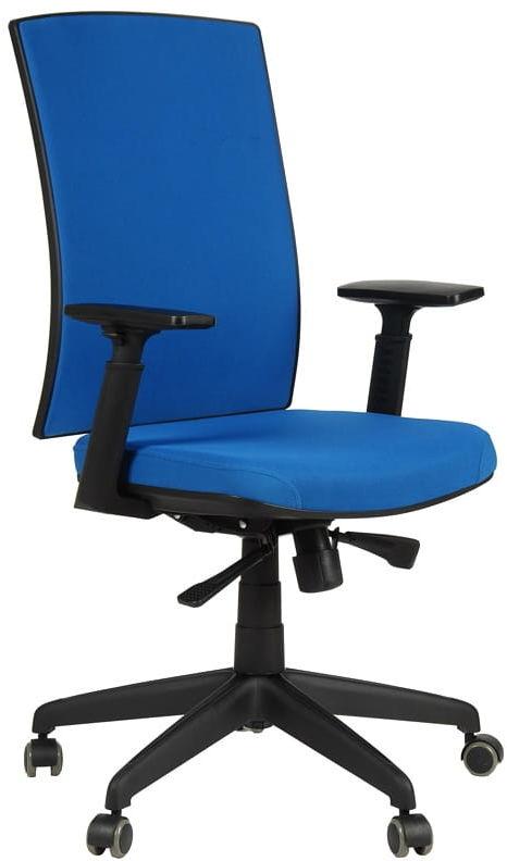 Krzesło biurowe obrotowe KB-8922B/NIEBIESKI, fotel biurowy