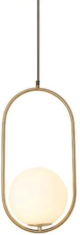 Art Deco Elipse 60cm - lampa wisząca