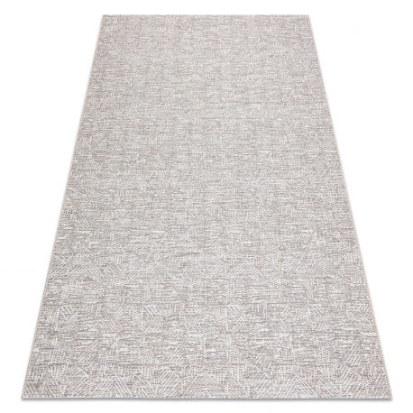 Dywan Sznurkowy SIZAL COLOR 47373560 Labirynt beż 60x110 cm