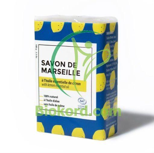 Mydło Marsylskie Perfumowane Cytryna BIO, 100g