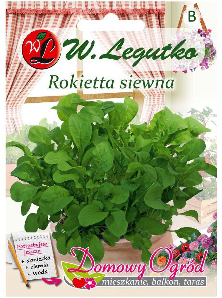 Rukola (Rokietta siewna) nasiona tradycyjne 0.5 g W. LEGUTKO