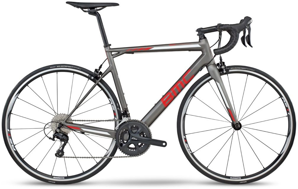 BMC TEAMMACHINE SLR02 105 57cm Grey Red 224131