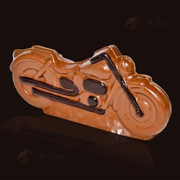 Motocykl z czekolady