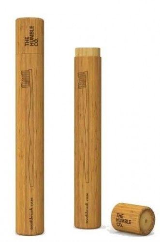 Humble Etui na szczoteczkę z drzewa bambusowego