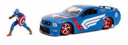 Marvel 253225007 Kapitan Ameryka 2006 Ford Mustang GT odlew ciśnieniowy zabawka samochód sportowy