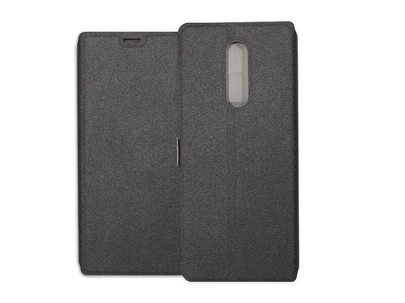 Sony Xperia 1 - etui na telefon Wallet Book - czarny