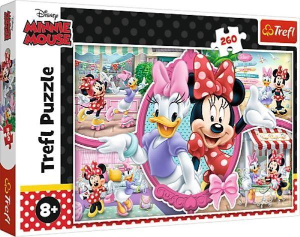 Puzzle 260el. Wesoły Dzień myszki Minnie 8+ TREFL