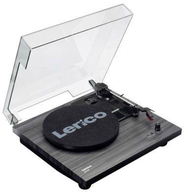 Gramofon LENCO LS-10 Czarny Dogodne raty! WYBRANY PIĄTY PRODUKT 99% TANIEJ DARMOWY TRANSPORT!
