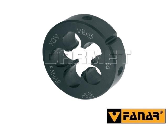 Narzynka maszynowa M3 HSSE INOX gwint metryczny zwykły - FANAR (N2-188001-0030)