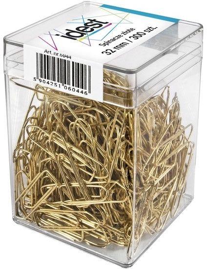 Spinacze złote Oficio okrągłe, 32 mm, opakowanie 30 sztuk -  Rabaty  Porady  Hurt  Wyceny   sklep@solokolos.pl   tel.(34)366-72-72
