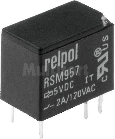 Przekaźnik: elektromagnetyczny; SPDT; Ucewki :5VDC; 2A/120VAC