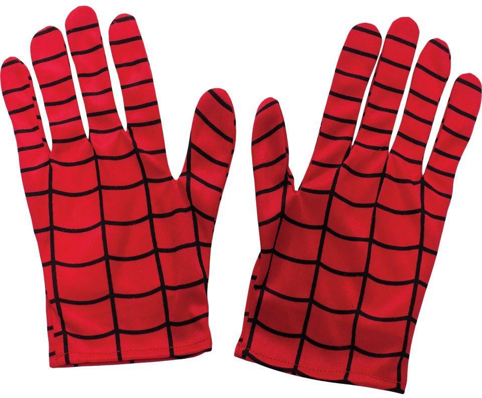 Rubie''s Oficjalne rękawiczki Kiid''s Spiderman - jeden rozmiar, czerwone