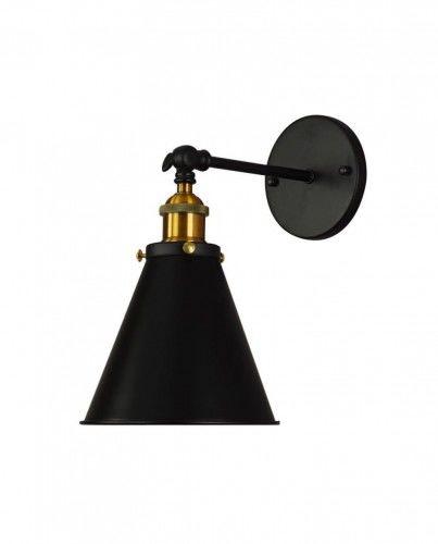 Kinkiet loftowy czarny Rubi W1