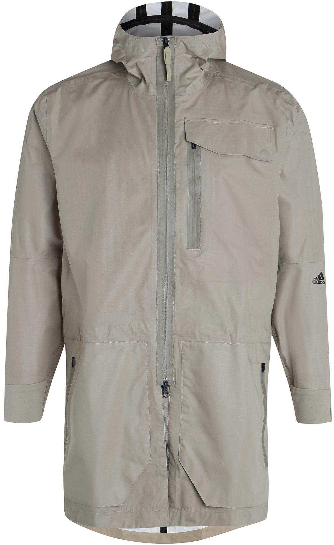 adidas Standard 19 Parka męska kurtka treningowa, beżowa, M-50