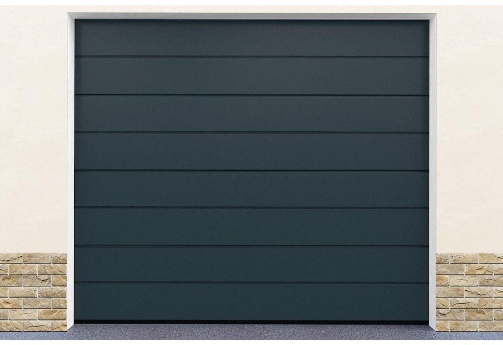 Brama garażowa segmentowa Antracyt DoorHan HD01/7016