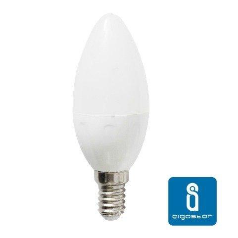 Żarówka LED E14 7W ciepła 3000K świeczka C37 - Biały Ciepły