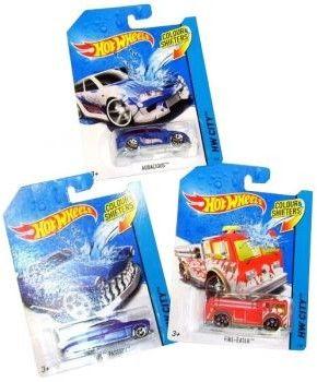 Hot Wheels - Autokolorowańce Auto zmieniające kolor Baja Bone Shaker CFM28