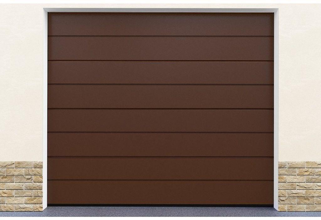 Brama garażowa segmentowa Brąz DoorHan HD01/8014