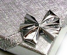 Ozdobne Pudełko Jubilerskie Kokardka Biżuteria