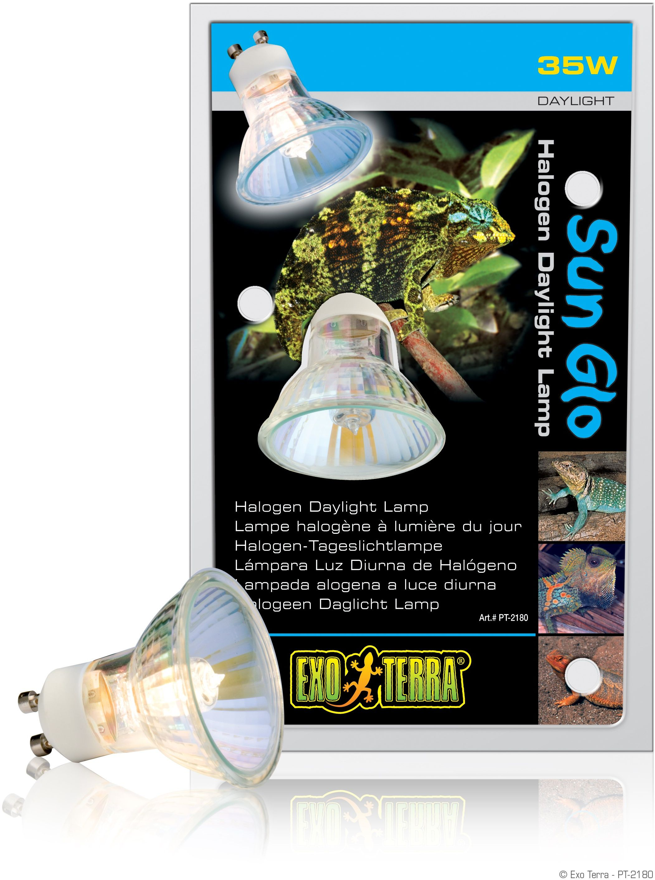 Exo-Terra Żarówka Halogen Sun Glo Halogen Daylight Lamp