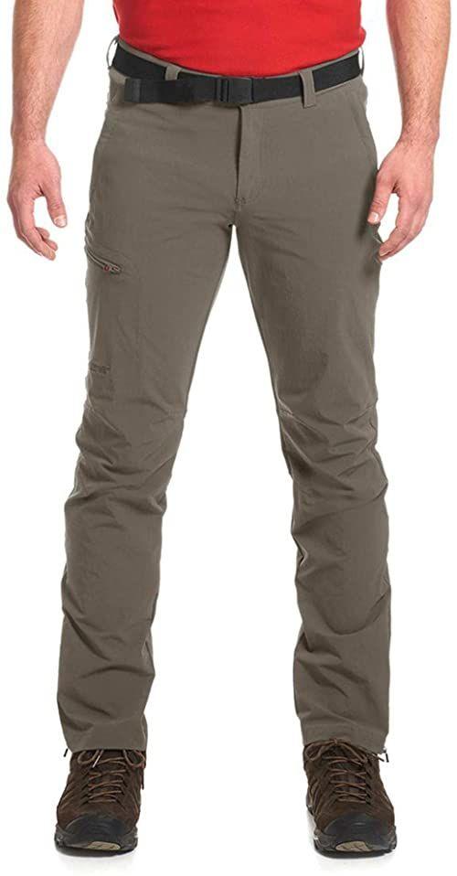 Maier Sports Męskie spodnie trekkingowe Torid Slim oliwkowo-zielony Oliwkowa zieleń (teak/780) 52